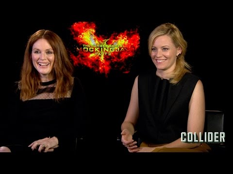 """Watch 'Hunger Games' Stars Julianne Moore and Elizabeth Banks Play """"Save or Kill"""""""