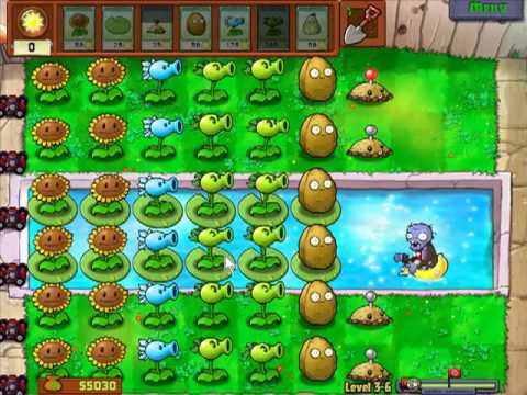 Plants vs. Zombies - Tips to plant quickly!