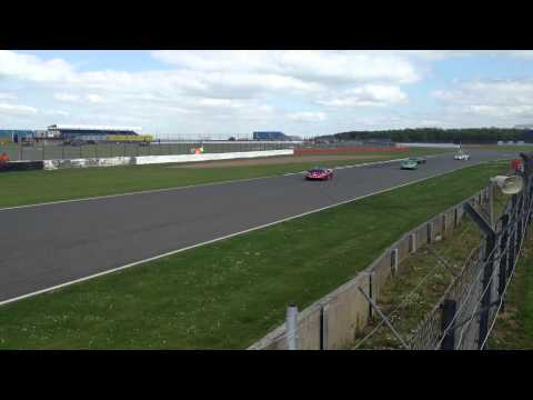 Adrian Newey crashed his Lamborghini Super Trofeo - 2013 Silverstone