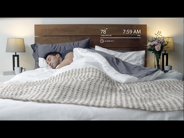 luna smart bed cover the awesomer