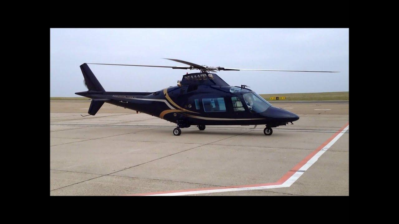 Agusta 109 C For sale www.amvjet.com Start engine - YouTube