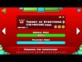 THEORY OF EVERYTHING 3 FULL + MONTAGE | Geometry Dash 2.2 (Toe 1~2 Level + Toe 3 Song)