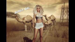 Tribal Girl in Second Life