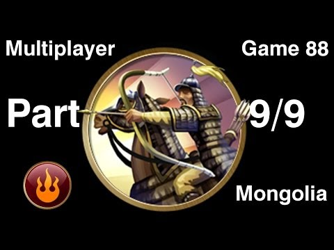 Civilization 5 Multiplayer 88: Mongolia [9/9] ( BNW 6 Player Free For All) Gameplay/Commentary