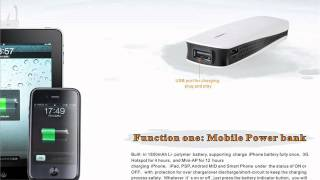 3G/4G MiFi Router/AP/Power Bank