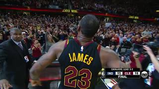 Tissot Buzzer: LeBron James Wins It For The Cavs At Buzzer!