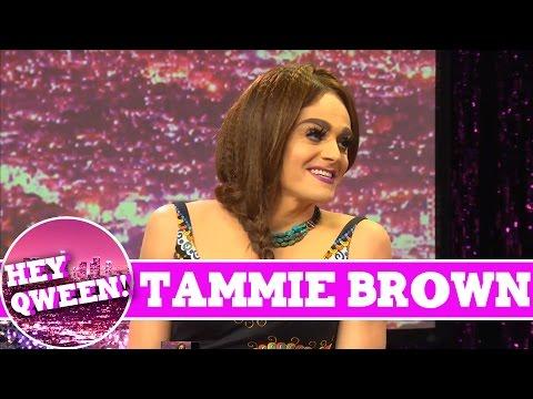 RuPaul's Drag Race Star Tammie Brown on Hey Qween! with Jonny McGovern