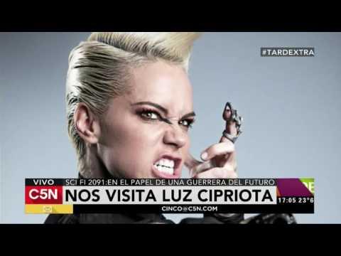C5N - TardeXtra: la visita de la actriz Luz Cipriota