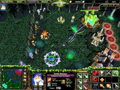 DOTA. Как убить рудник (фантан). БАГИ. BAG. Warcraft 3.