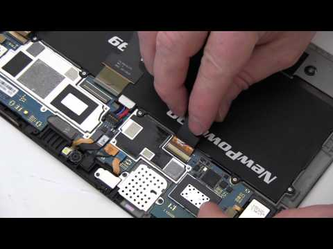 How To Replace Your Samsung GALAXY Tab GT-P7500 Battery