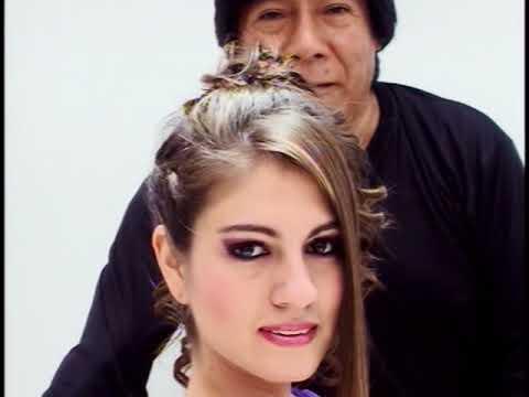 Peinado de Fiesta trenzas moda 2013 Amaranto Olivos y Jessamin Chaparro Olivos salon