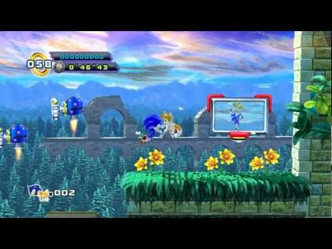 Sonic the Hedgehog Episode 4 Game Play Pc