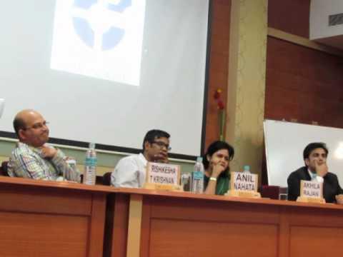 Consulting - Panel discussion at IIM Indore Mumbai Campus, Q & A session