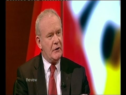 Election interview with Martin McGuinness 'The View'