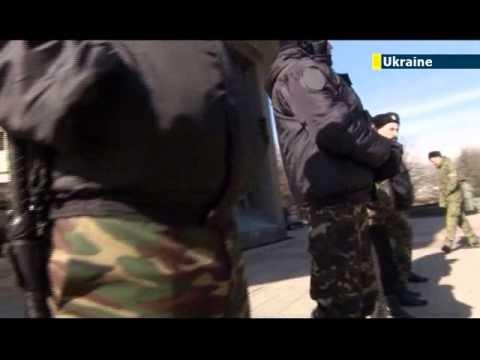 NATO holds military exercise amid Crimea crisis