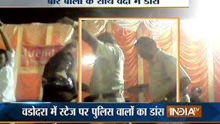 Vadodara Police Dance with Dancer in Marriage Ceremony - India TV