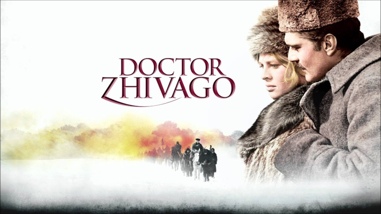 dr zhivago A poet's (omar sharif), lover (julie christie) and wife (geraldine chaplin) see russians revolt.