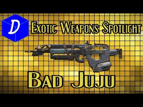 destiny exotic weapon spotlight bad juju youtube. Black Bedroom Furniture Sets. Home Design Ideas