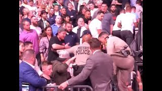 UFC 229 CRAZY RIOT - Camera Footage from FLOOR SEATS
