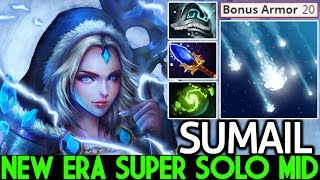 SumaiL [Crystal Maiden] Super Solo Mid Hero Cancer Gameplay 7.21 Dota 2