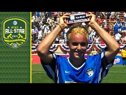 Landon Donovan's 4 goals highlight the 2001 MLS All-Star Game | The Vault