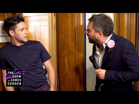 Poet Laureate in London w/ Niall Horan