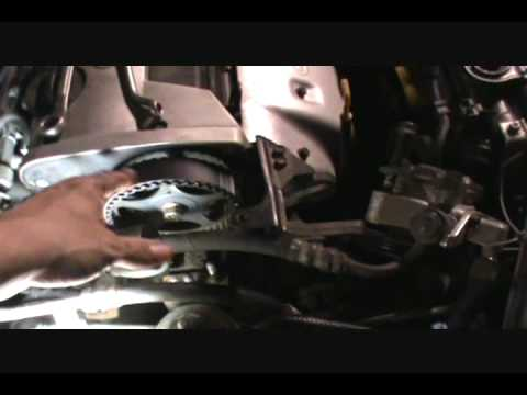 2001-06 Hyundai Elantra timing belt service procedure part 3