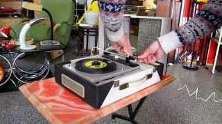 musica tocadiscos toca discos vinilo valvulas electro phone pikup dual 401 chachiandchachi