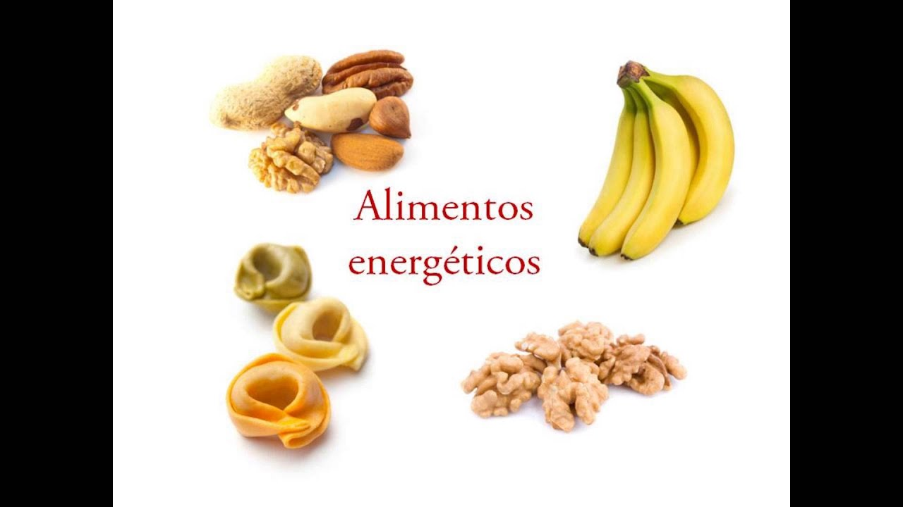 Alimentos energeticos YouTube