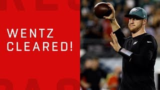 Carson Wentz Cleared to Play!