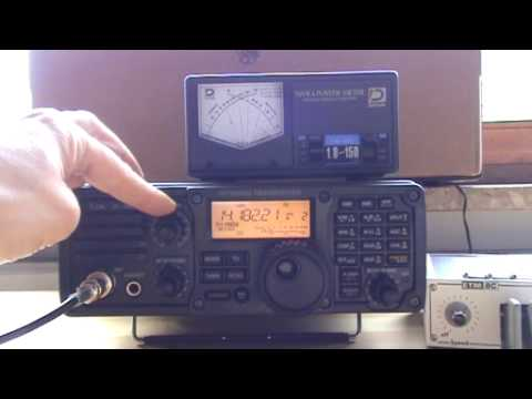 ICOM IC-7200 playing with twin bpt