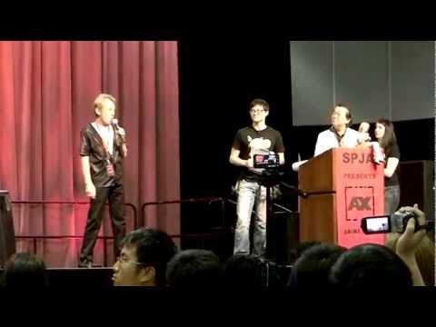 Its Over 9000!!! Ryo Horikawa Says At The Closing Ceremony AX  2012