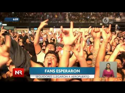 Iron Maiden ya está en Costa Rica