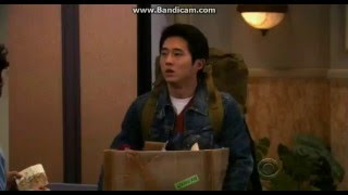 Steven Yeun from twd on The Big Bang Theory