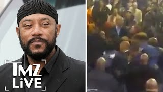 Comedian Ricky Harris' Funeral Interrupted by Fight I TMZ Live