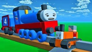 Little Thomas & Friends Trains Blocksworld Game For Kids