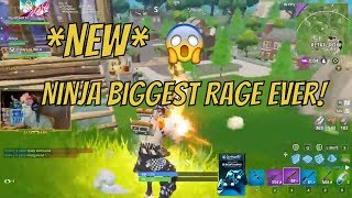 Ninja Biggest Rage Ever In Fortnite Battle Royale! (Fortnite Battle Royale Funny Moments)