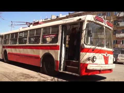 Троллейбус Победы ЗИУ-5 // Trolleybus of Victory ZIU-5