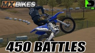 MX Bikes | Online Racing w/ OneShotKill | Moto talk plus 450 battles!!