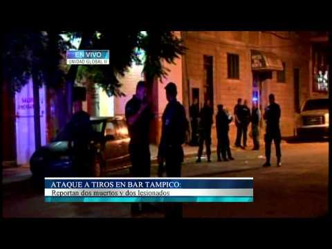 Ataque a tiros en Bar Tampico