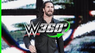 Experience Seth Rollins' return to Raw in 360°!