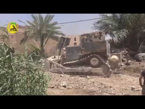 Iraqi Golden Division street clashes with ISIS in North Fallujah