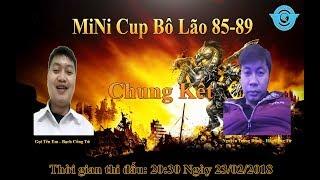 Trailer Chung Kết MiNi Cup Bô Lão BiBiClub Ngày 23/02/2018