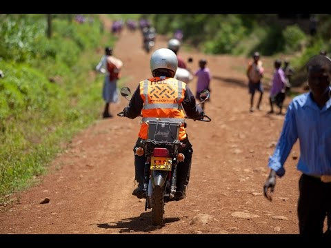 Health care on the road in Kenya