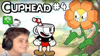 Cuphead part 4 Flower Power by HobbyKidsGaming