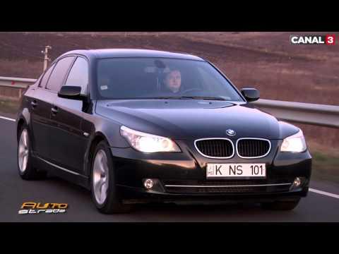 BMW 520d E60 Second Hand Test AutoStrada.MD