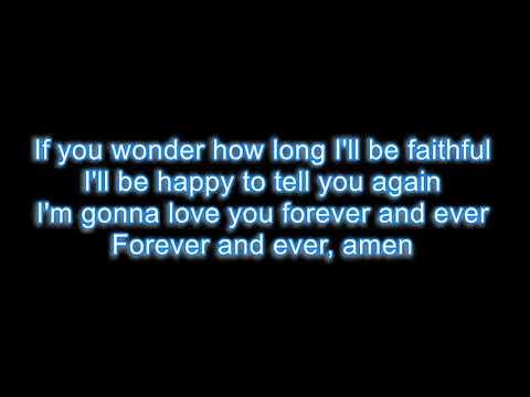 Randy Travis - Forever and ever amen LYRICS