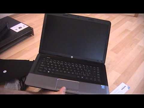 Notebook Hewlett Packard HP 250, package contents