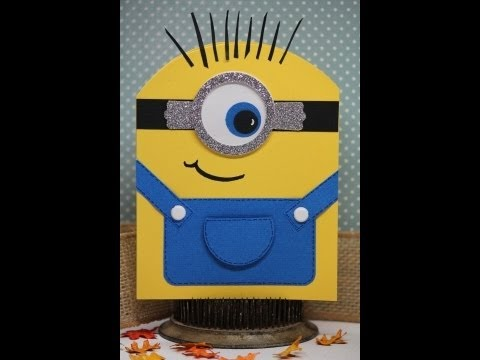 Tutorial Youre One In A Minion Card YouTube