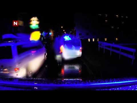 Nattpatruljen - Stopper mistenkelig bil i Haugesund